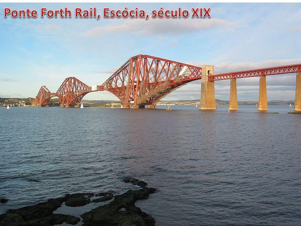 Ponte Forth Rail, Escócia, século XIX