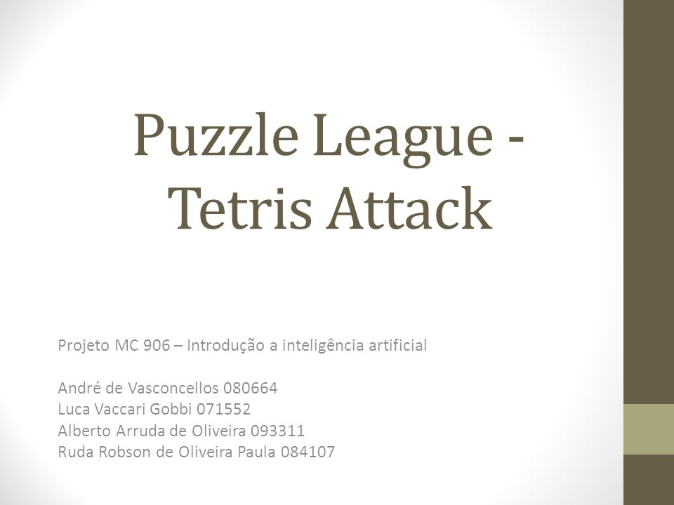 Puzzle League - Tetris Attack