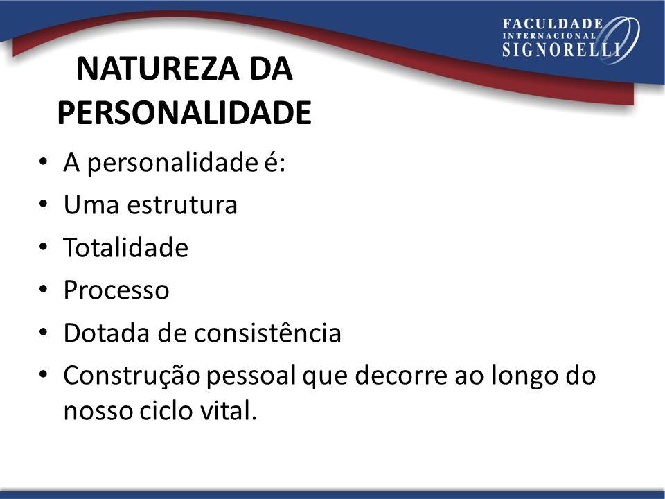 NATUREZA DA PERSONALIDADE