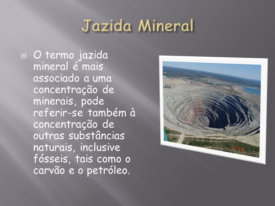Jazida Mineral