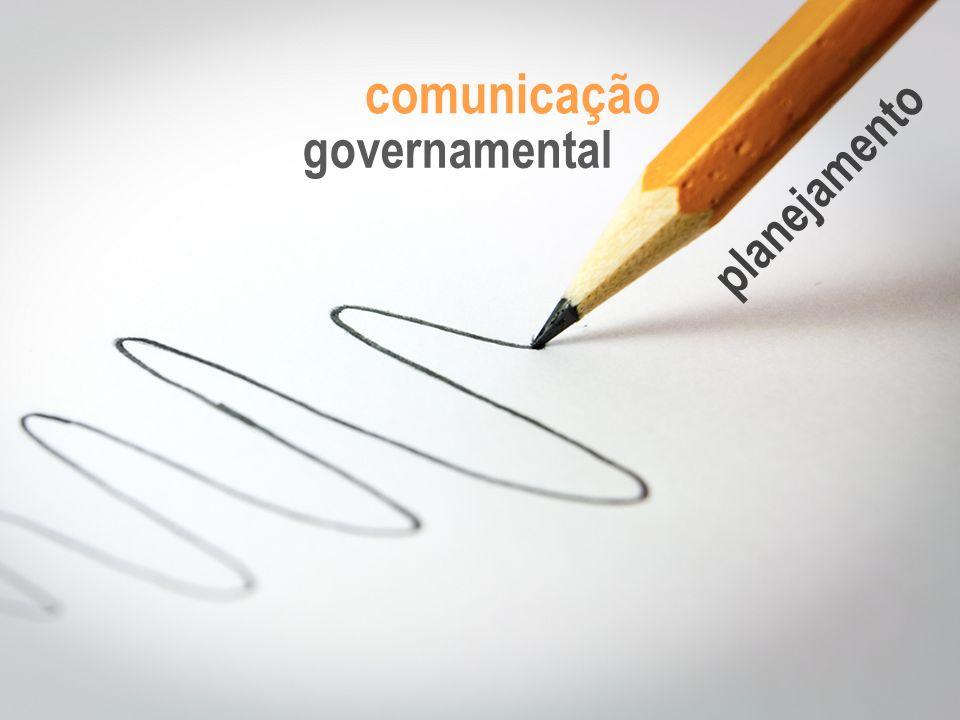 comunicação governamental planejamento