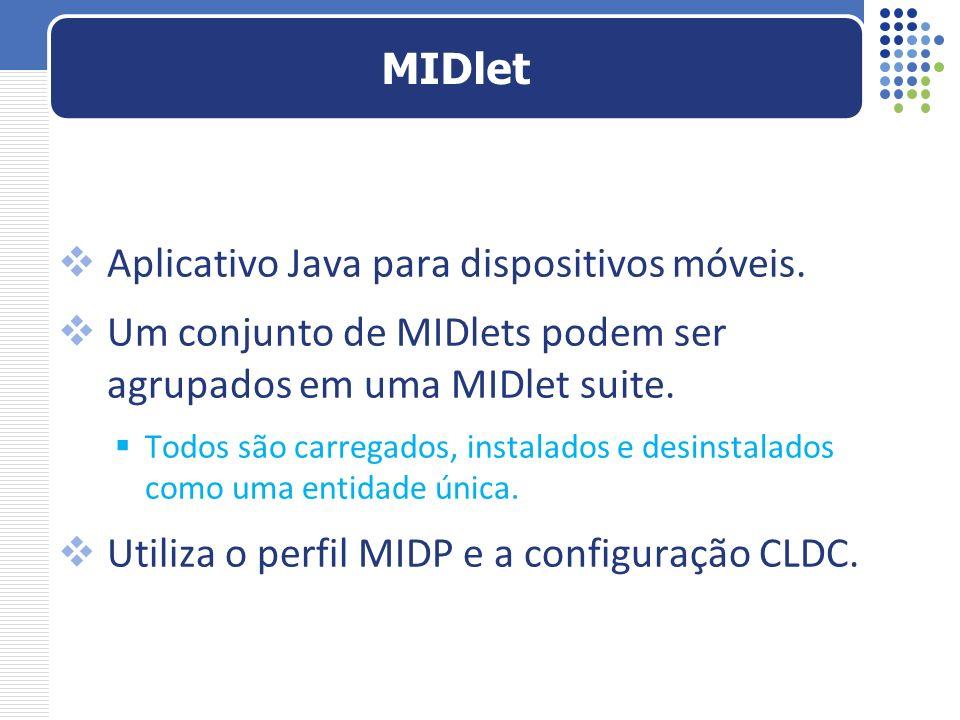 Aplicativo Java para dispositivos móveis.