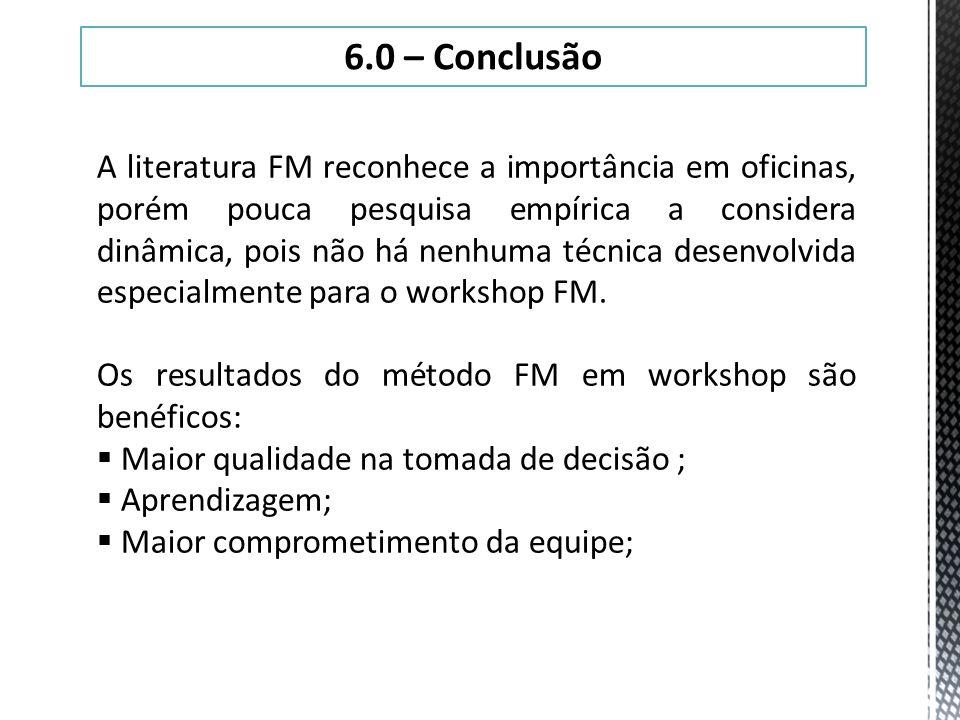 6.0 – Conclusão