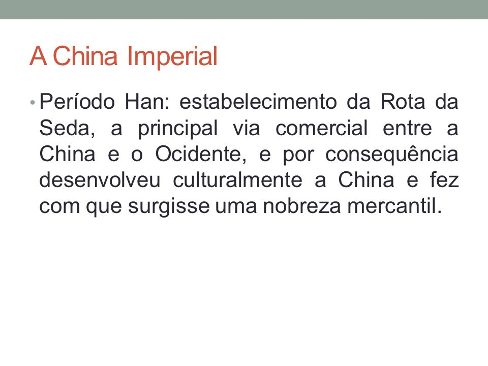 A China Imperial