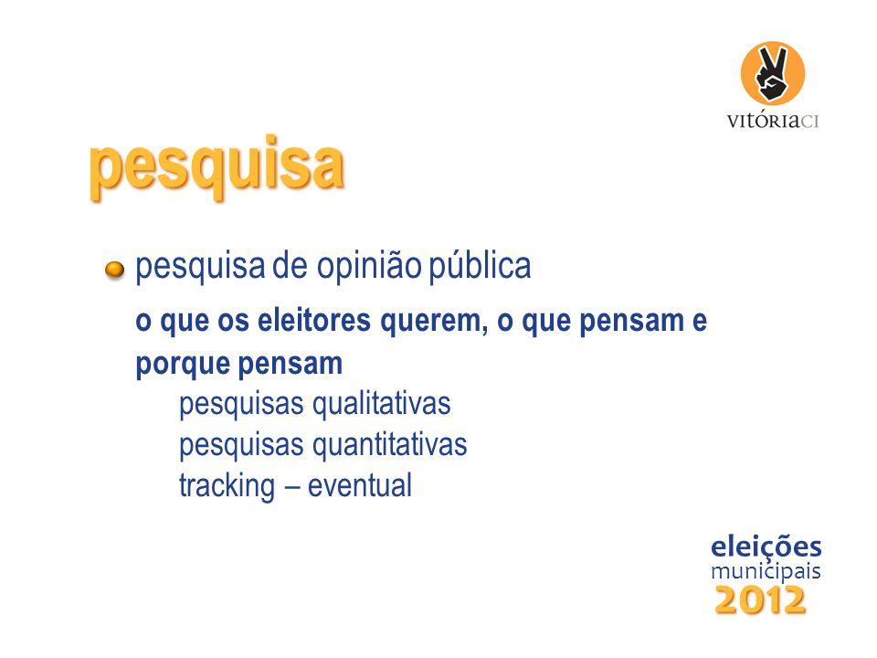 pesquisa 2012 pesquisa de opinião pública