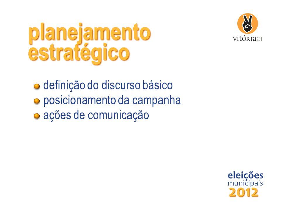planejamento estratégico 2012 definição do discurso básico