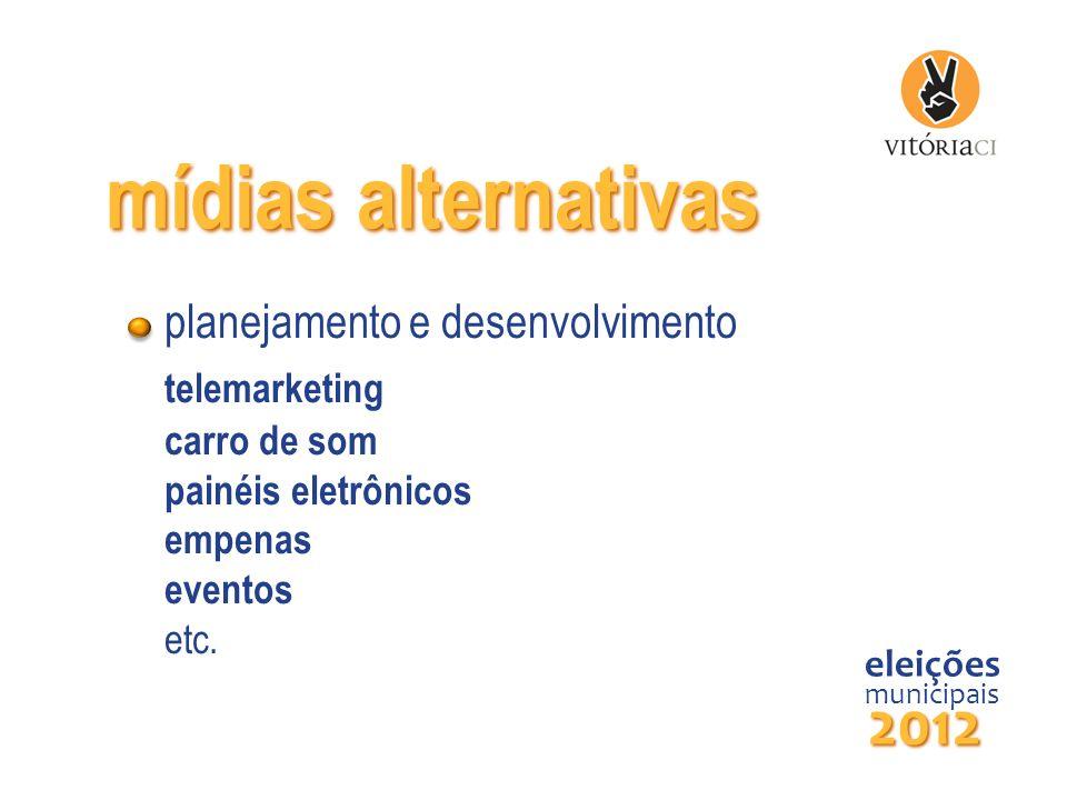 mídias alternativas 2012 planejamento e desenvolvimento telemarketing