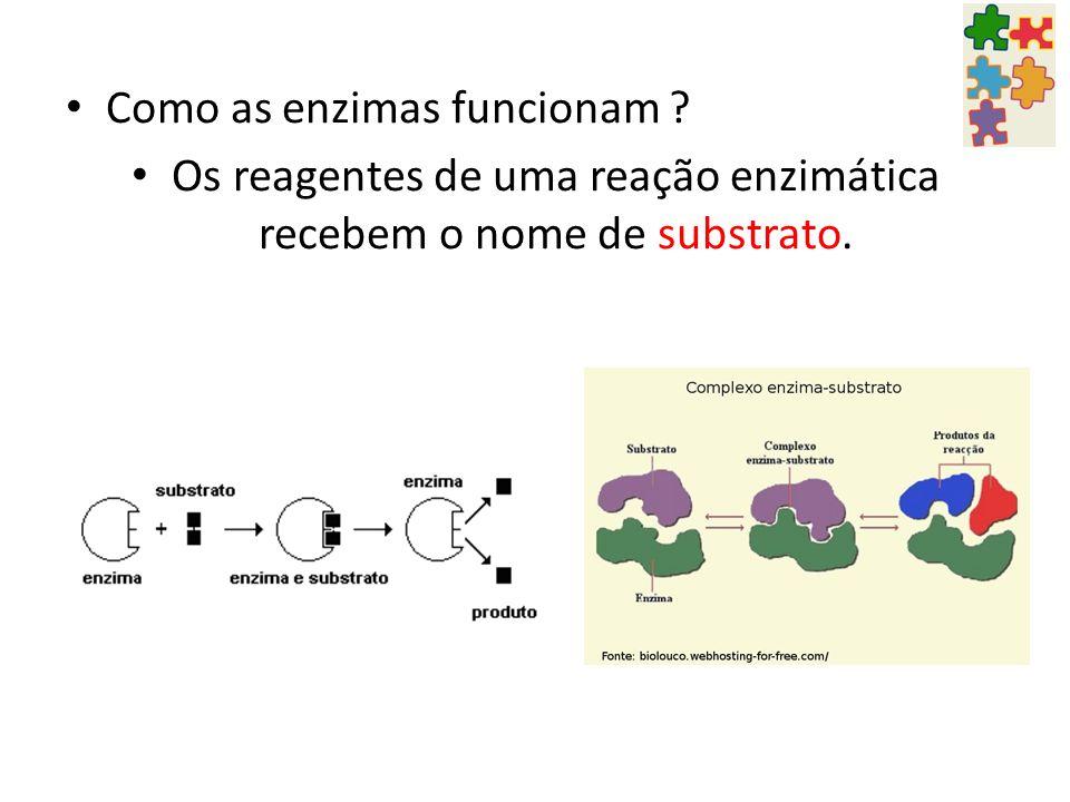 Os reagentes de uma reação enzimática recebem o nome de substrato.