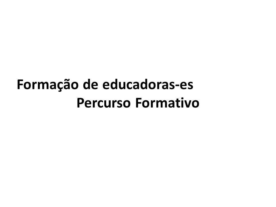Formação de educadoras-es