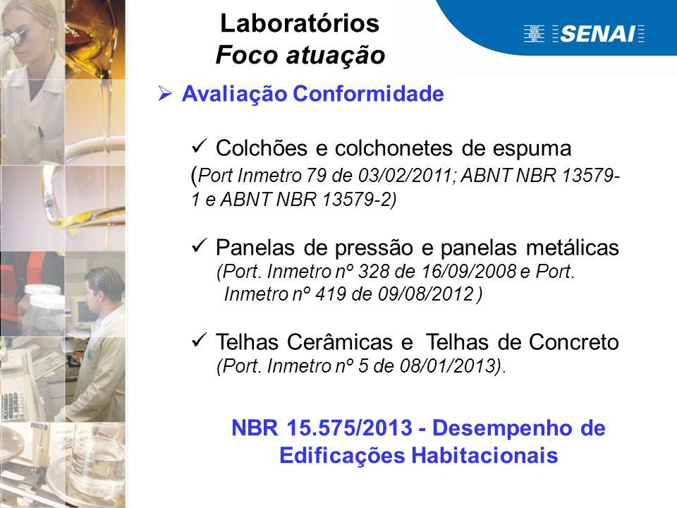 NBR 15.575/2013 - Desempenho de Edificações Habitacionais