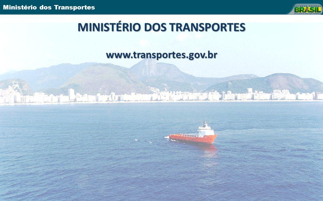 MINISTÉRIO DOS TRANSPORTES www.transportes.gov.br