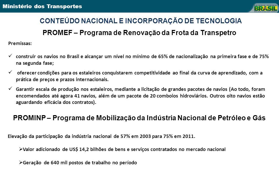 CONTEÚDO NACIONAL E INCORPORAÇÃO DE TECNOLOGIA