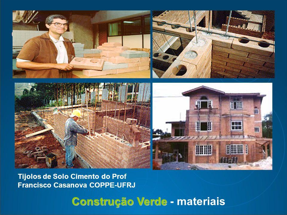 Construção Verde - materiais