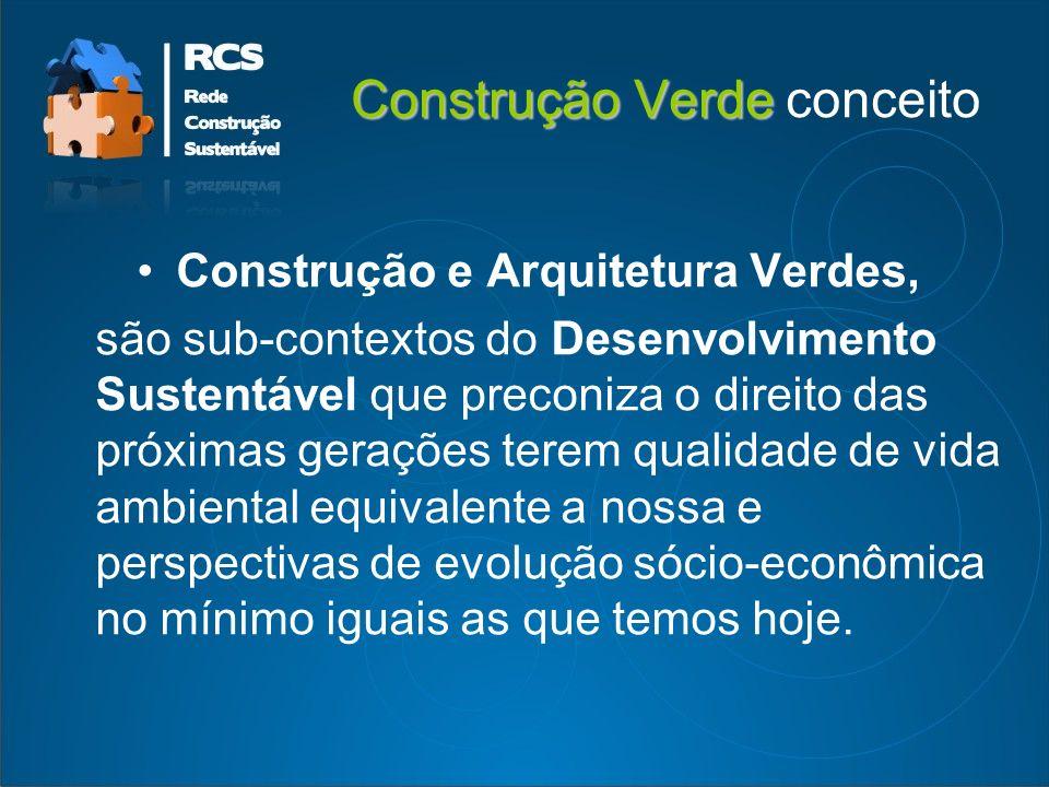 Construção Verde conceito