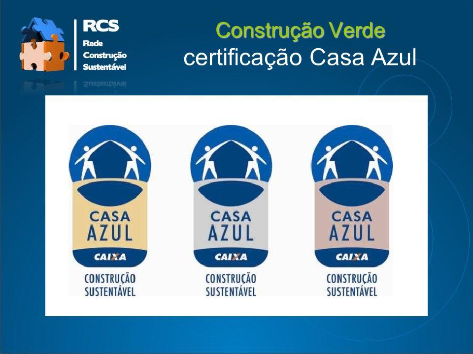 Construção Verde certificação Casa Azul