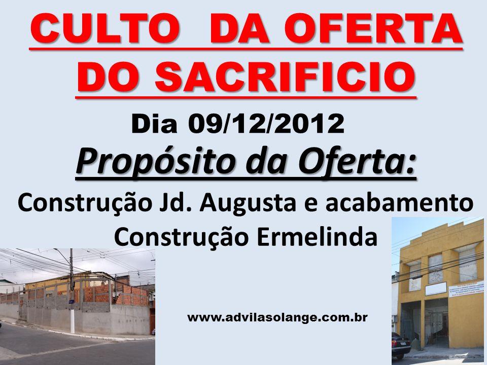 Construção Jd. Augusta e acabamento Construção Ermelinda