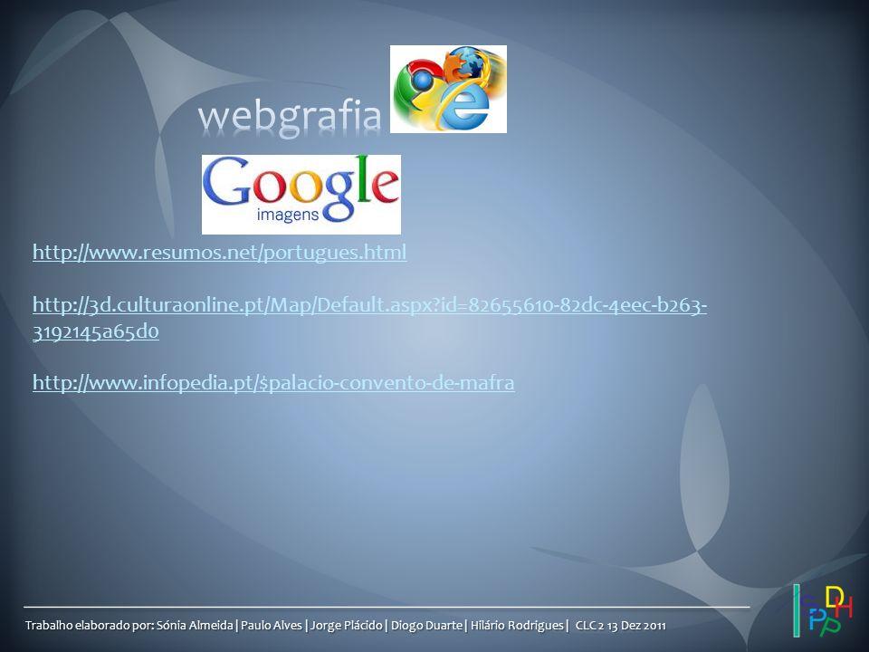 webgrafia http://www.resumos.net/portugues.html