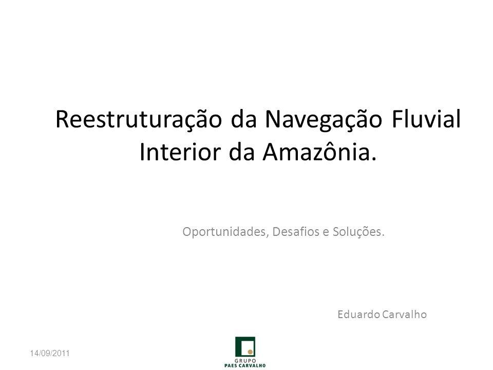 Reestruturação da Navegação Fluvial Interior da Amazônia.