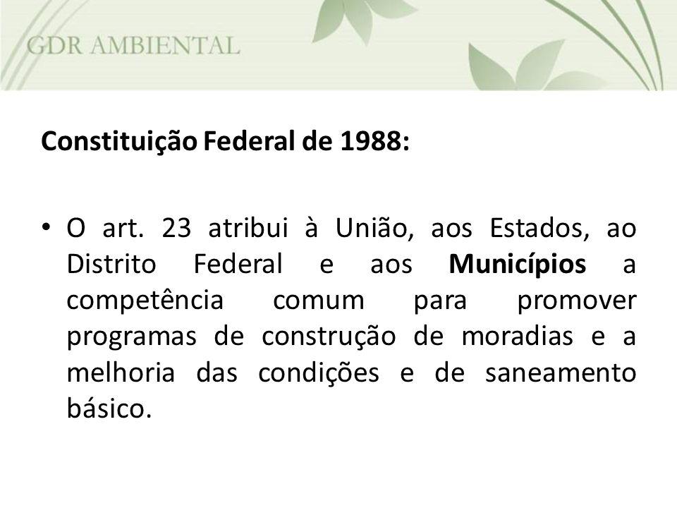 Constituição Federal de 1988: