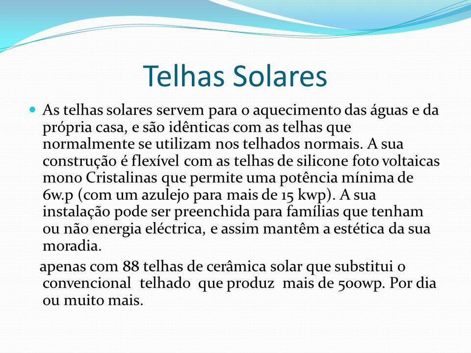Telhas Solares