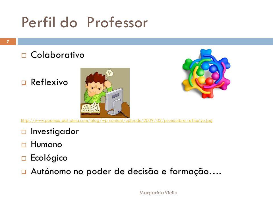 Perfil do Professor Colaborativo Reflexivo