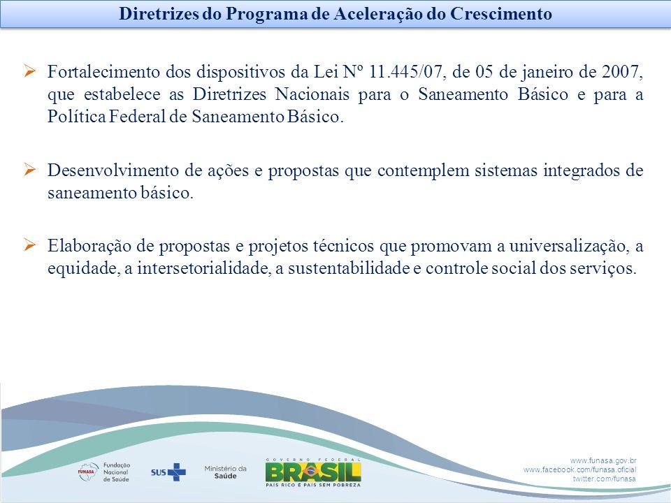 Diretrizes do Programa de Aceleração do Crescimento