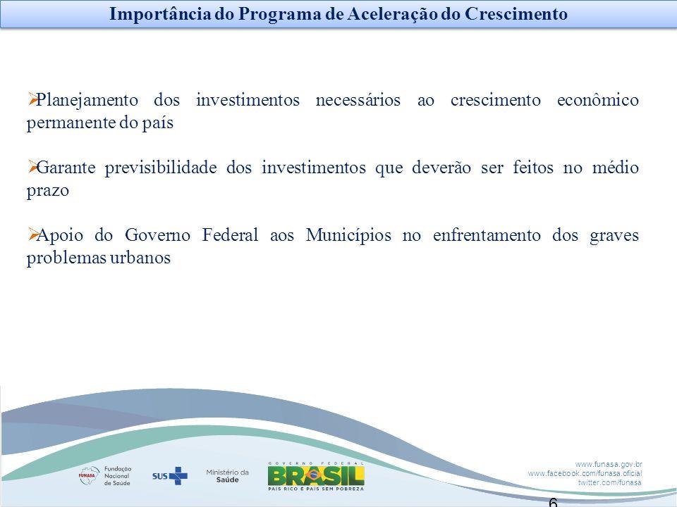 Importância do Programa de Aceleração do Crescimento