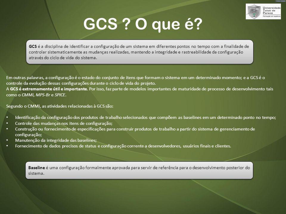 GCS O que é
