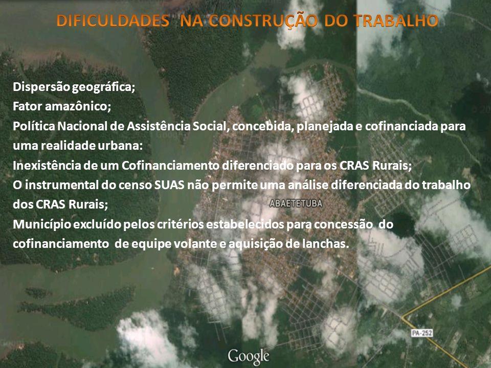 DIFICULDADES NA CONSTRUÇÃO DO TRABALHO