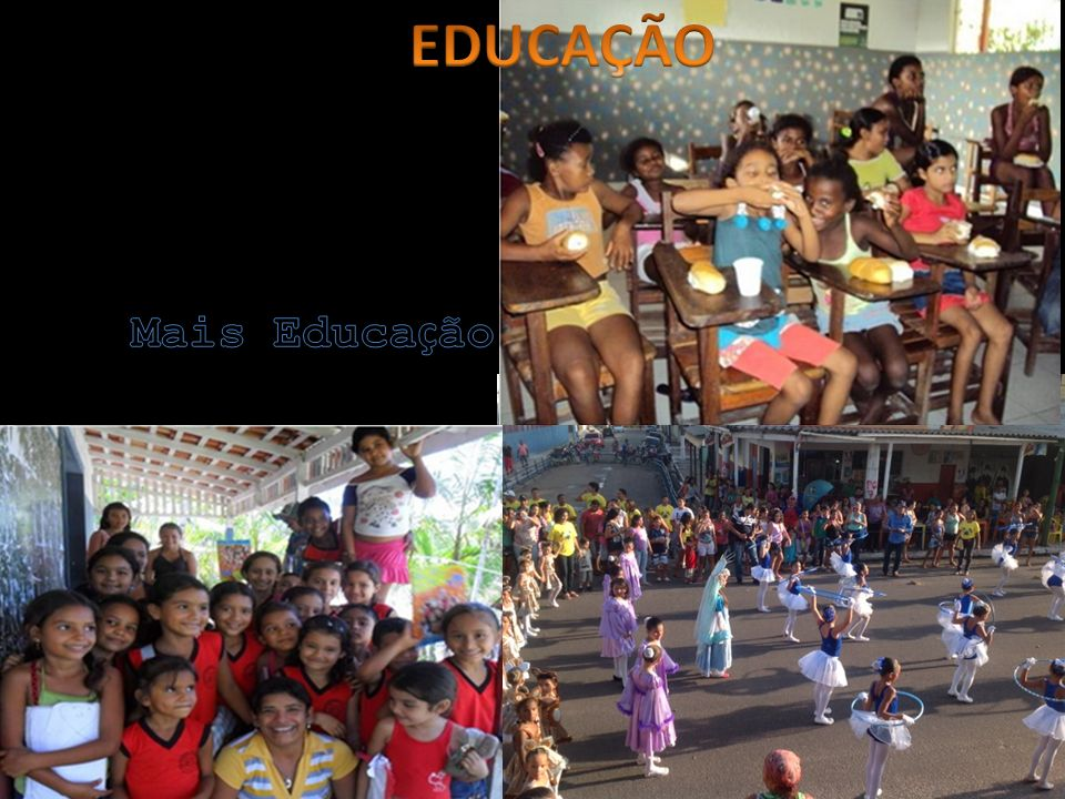 EDUCAÇÃO Mais Educação