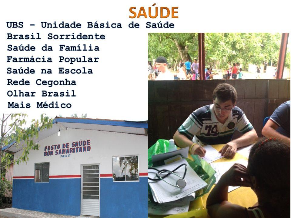 SAÚDE UBS – Unidade Básica de Saúde Brasil Sorridente Saúde da Família