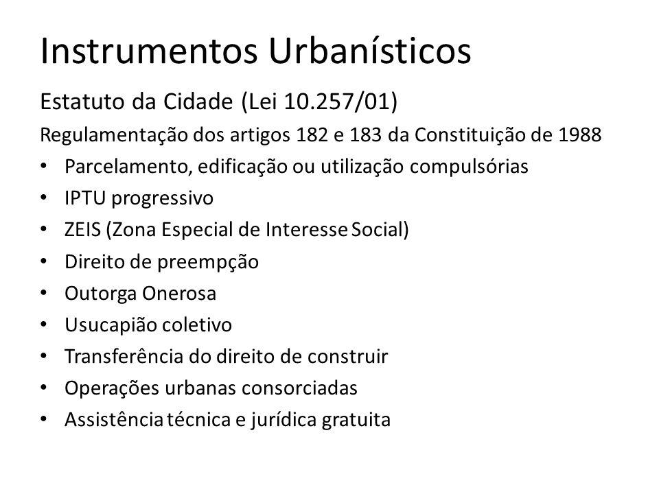 Instrumentos Urbanísticos