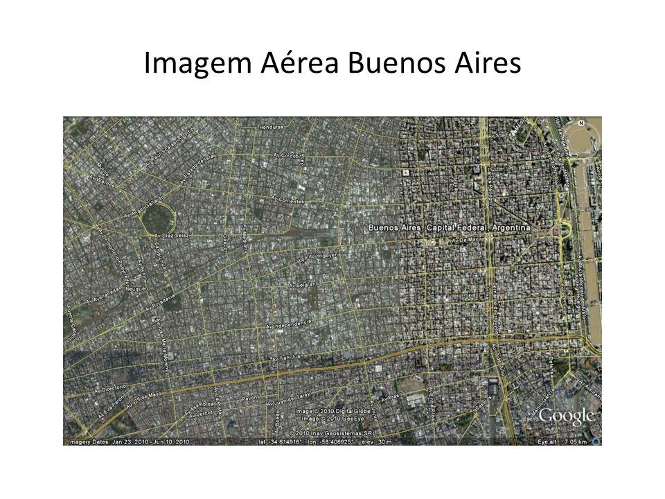 Imagem Aérea Buenos Aires