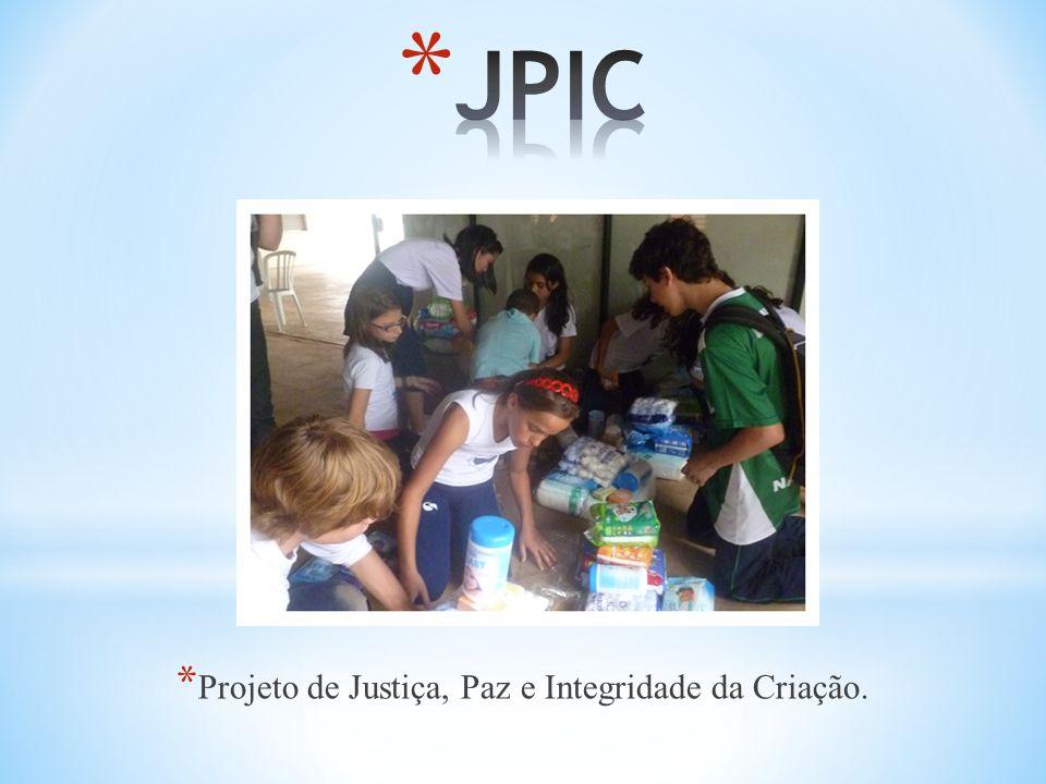 Projeto de Justiça, Paz e Integridade da Criação.
