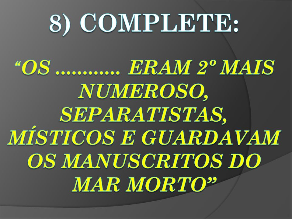 8) complete: OS ............