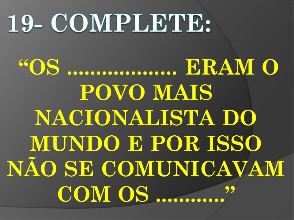 19- completE: OS ...................