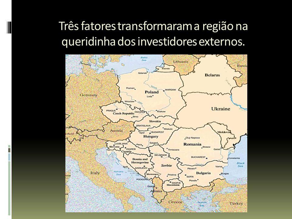 Três fatores transformaram a região na queridinha dos investidores externos.
