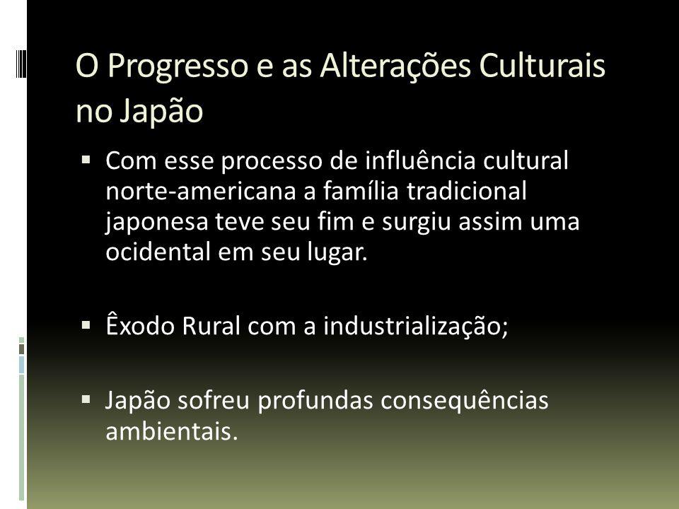 O Progresso e as Alterações Culturais no Japão
