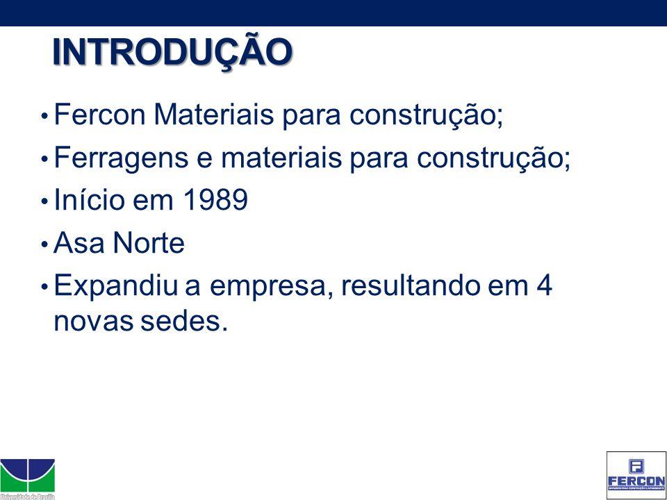 INTRODUÇÃO Fercon Materiais para construção;