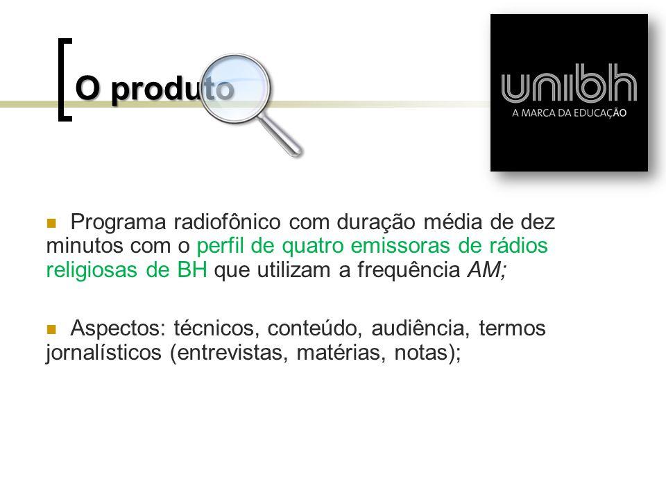 O produto