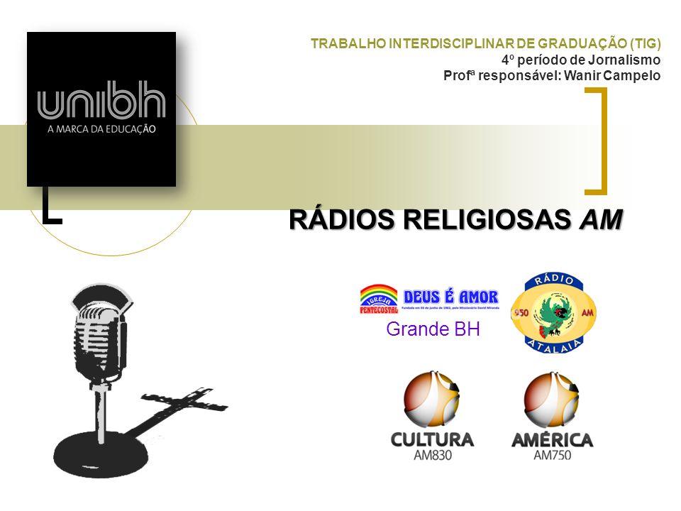 RÁDIOS RELIGIOSAS AM Grande BH