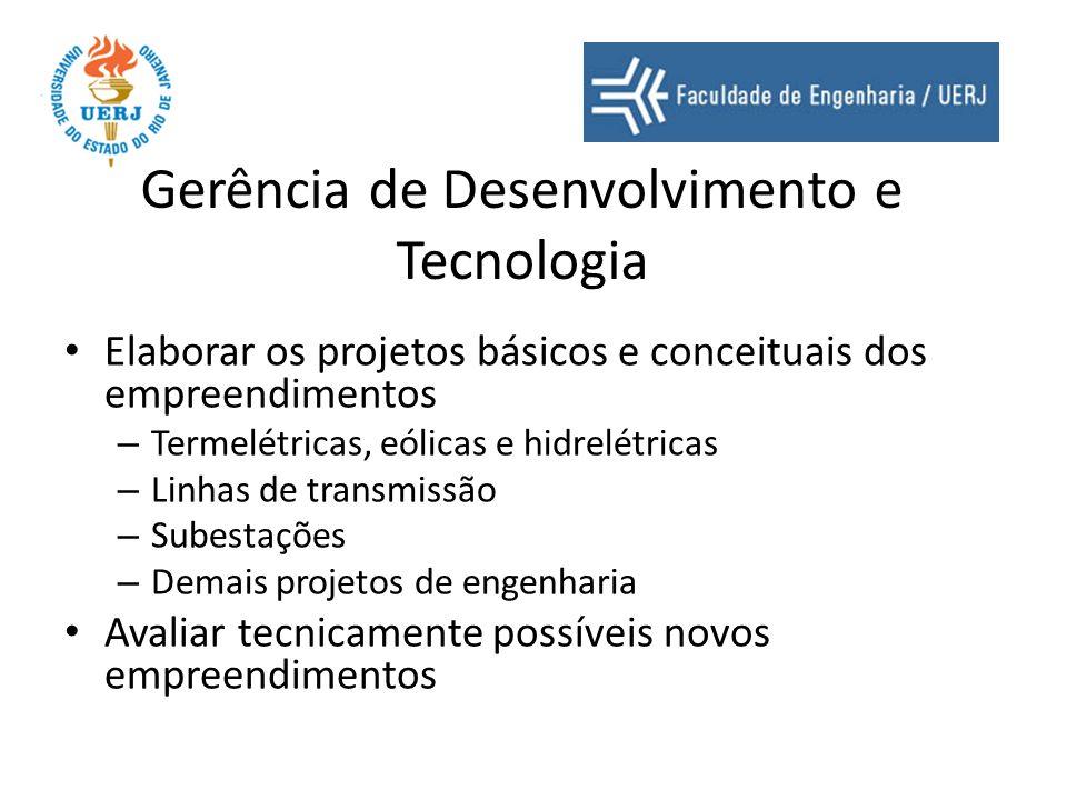 Gerência de Desenvolvimento e Tecnologia
