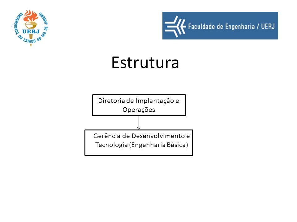Estrutura Diretoria de Implantação e Operações