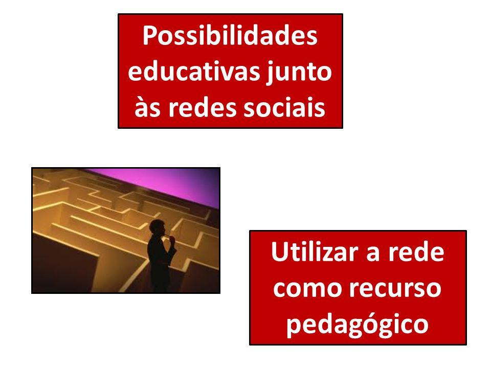Possibilidades educativas junto às redes sociais