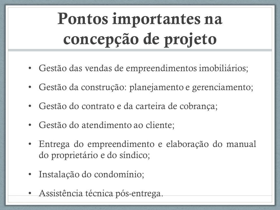 Pontos importantes na concepção de projeto