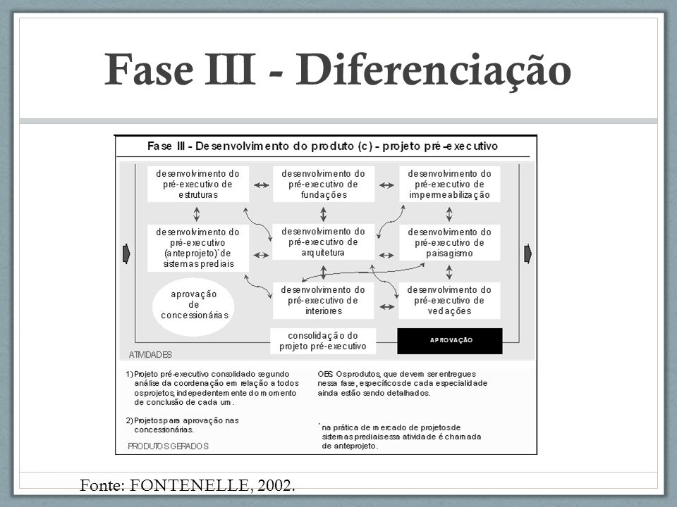 Fase III - Diferenciação