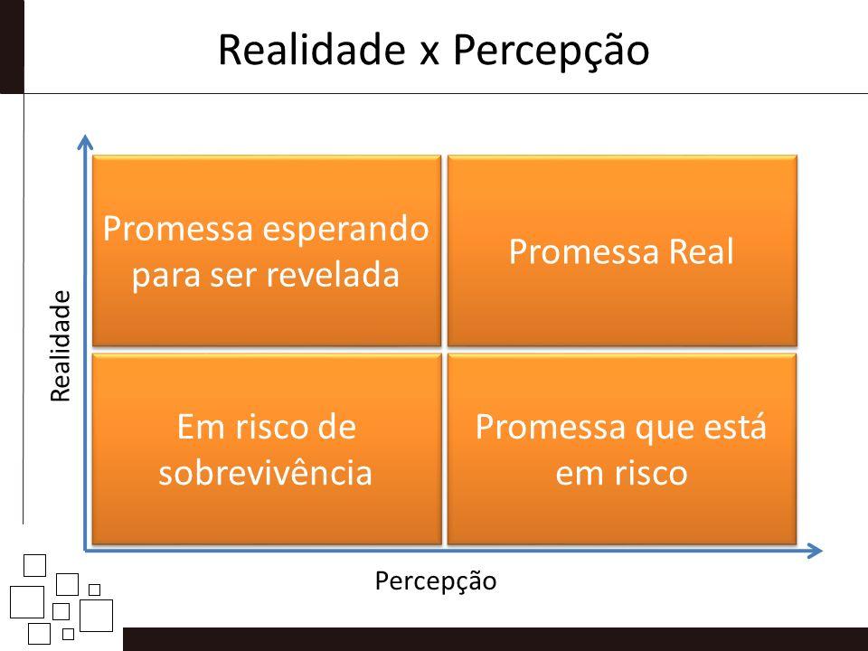 Realidade x Percepção Promessa esperando para ser revelada