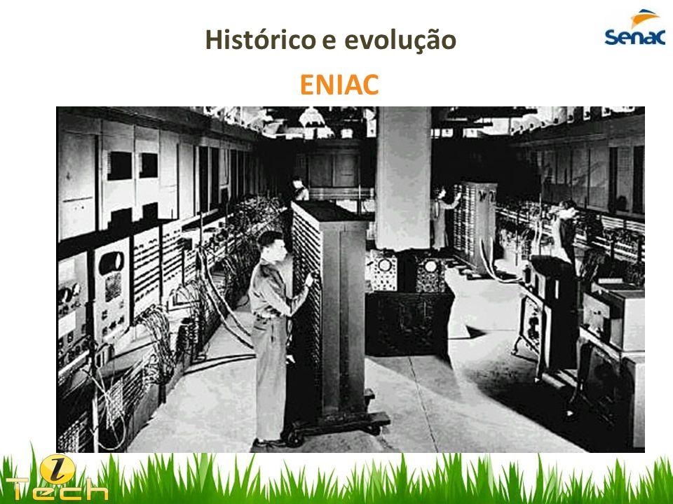 Histórico e evolução ENIAC