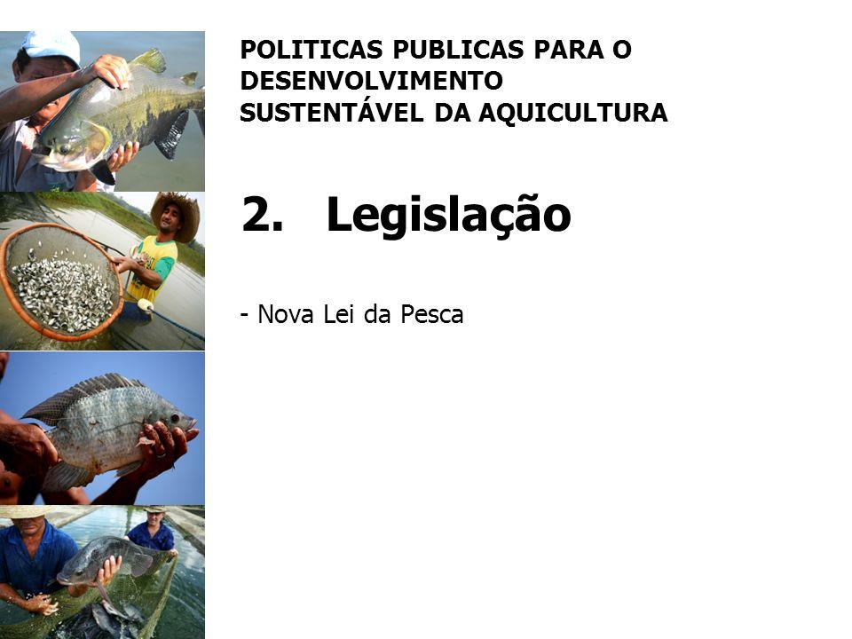 POLITICAS PUBLICAS PARA O DESENVOLVIMENTO SUSTENTÁVEL DA AQUICULTURA 2