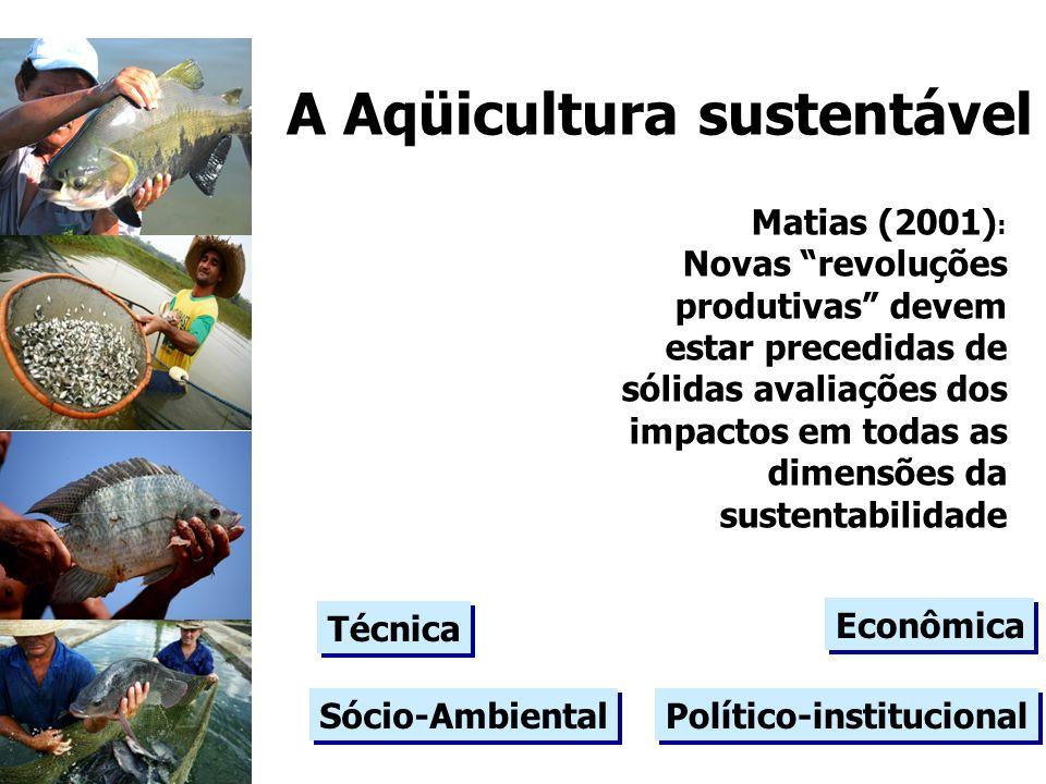 A Aqüicultura sustentável